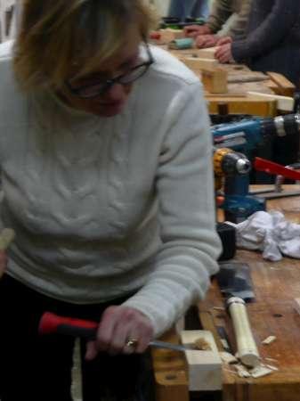 12 houten hamer
