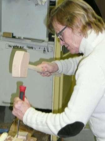 13 houten hamer